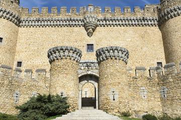 Castle of Manzanares el Real, Madrid, Spain