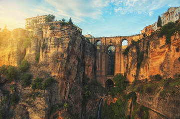 New Bridge in Ronda, Andalusia