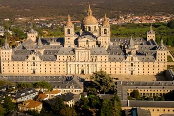 Aerial view of El Escorial