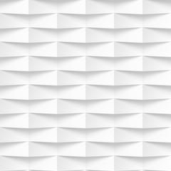 White wavy panel seamless texture background.