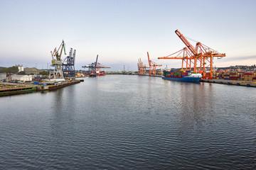 Gdynia Port, Poland - Baltic Sea