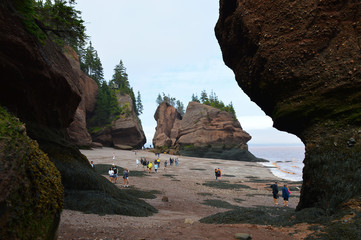 Hopewell Rocks NB, Canada