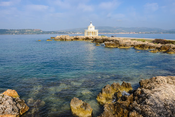 Lighthouse of St. Theodore at Argostoli, Kefalonia island in Greece