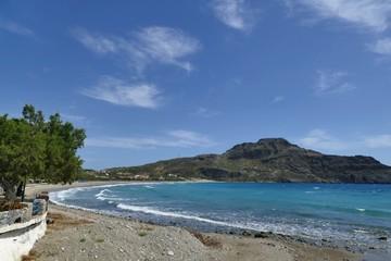 amazing view on Plakias beach. crete