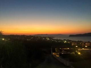 Above Chania Crete