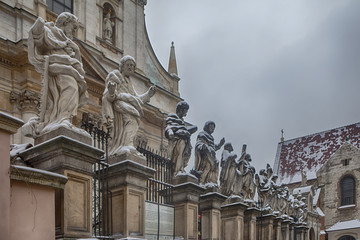 Picture of Apostles at Church of St. Peter and Paul in Krakow