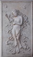 stone fresco, tiles
