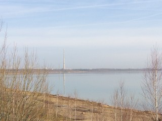 am Baggersee in Zwenkau
