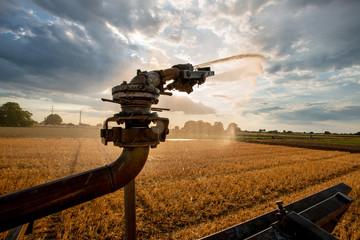 künsliche Bewässerung in der Landwirtschaft, Versorgung von Kulturland mit Wasser