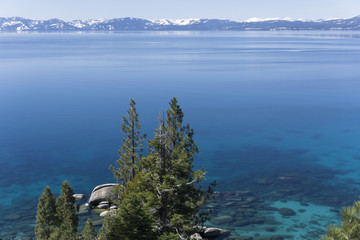 Clear Water at Lake Tahoe in March