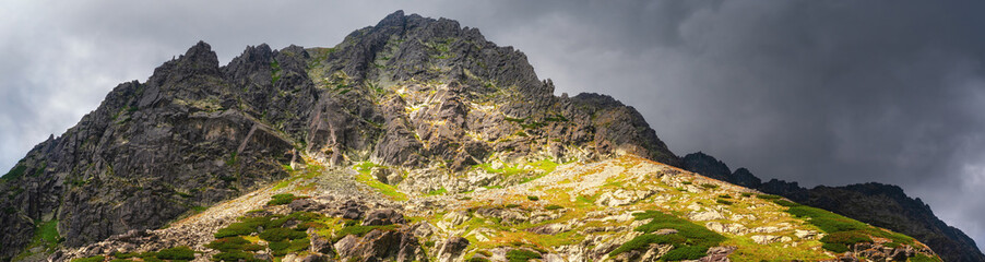 Mountain High Tatras National Park.