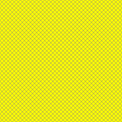 Pop Art Pattern. Symbolic Background of Art of 1960s. Seamless Pop art vector background. Yellow and Blue. Pattern for trendy fabric, wallpapers.