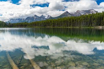 Herbert Lake, Alberta, Canada