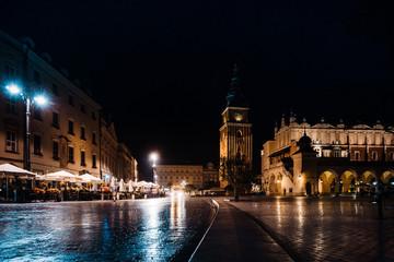 KRAKOW, POLAND - August 27, 2017: The Cloth Hall Krakow,listed as a UNESCO World Heritage Site since 1978, Poland