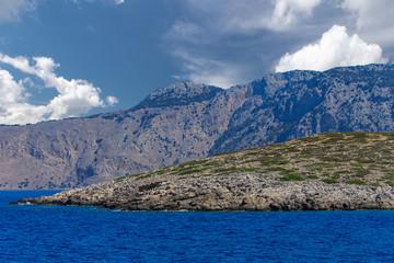 Mountains of Rhodes, Greece.