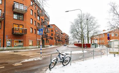 City street Stockholm Sweden