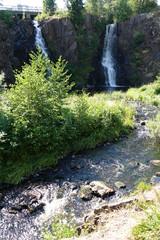 Wasserfall Stalpet in Schweden