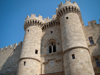 Palace of the Great Masters, Rhodes Island, Greece