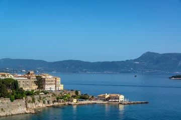 Corfu Town and Ionian Sea