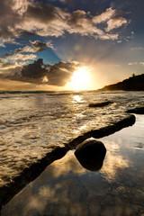 Grand Anse Sunset, Reunion Island
