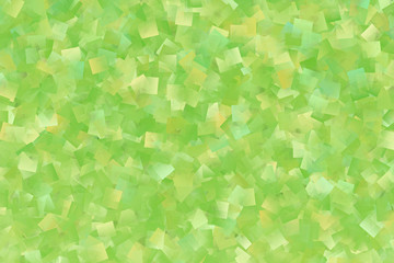 Abstract background from the green yellow rectangles
