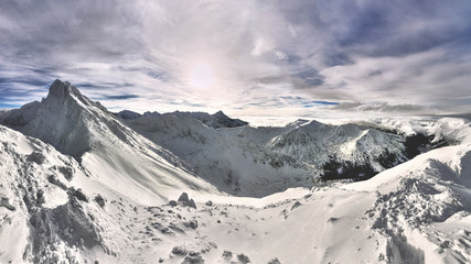 Tatra mountains at winter....