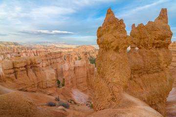 Amazing landscape in Bryce National park, Utah, Usa