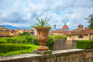 Nice view of the famous cathedral of Florence.