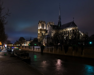 Notre Dame Cathedral from Bridge