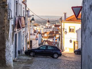 Street in Palmela, Portugal