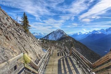 Banff Mountain Walkway
