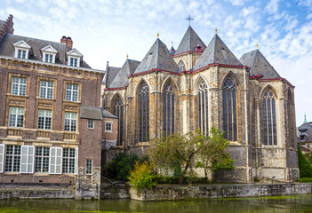 Saint Michael Church is a Catholic church in Gothic style, Gent, Belgium