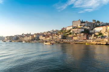 River cruise on the Douro river along the historical centre of Oporto