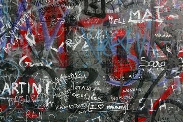miejskie graffiti