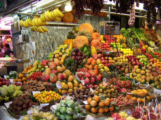 marktstand barcelona