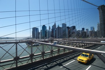 manhattan z mostu brooklyńskiego