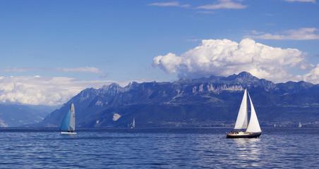sailing on geneva lake
