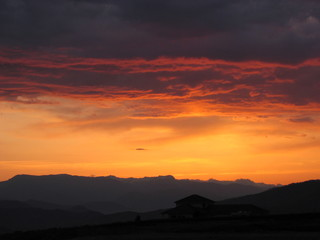 enchantment sunset