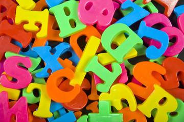 Jumbled letters