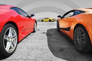 voitures de course