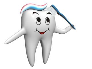 Ząb samoczyszczący