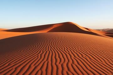 Piaszczysta pustynia