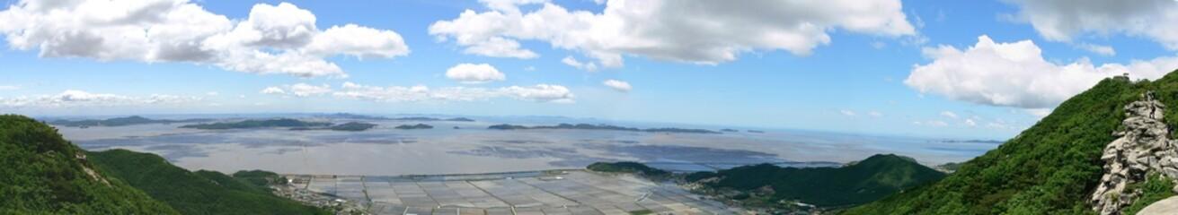 Landscape of Korean West Coast