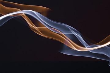 Streams of a smoke