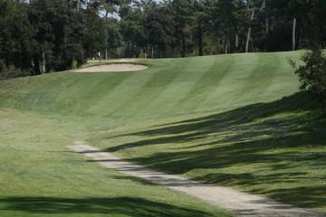 paysage golfique