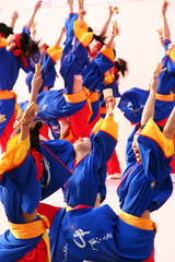 groupe de danse japon