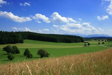 Landschaft im Chiemgau