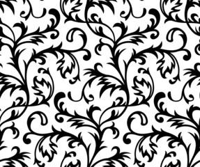 Vector. Seamless Classicism Wallpaper