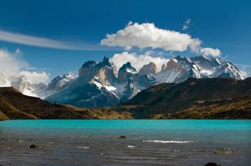 Torres del Paine mountain range, Patagonia