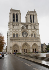 Notre Dame Cathedral Exterior